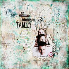 "Scrapmanufaktur: Layout ""Original Family"" with Sizzix"