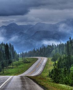 Stormy weather (Big Horn Reserve, near Rocky Mountain House, Alberta) by Len Langevin cr.c.