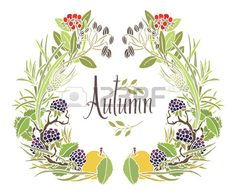Autumn Frame Of Leaves, Twigs And Apples Design Card With Blackberry Royalty Free Cliparts, Vectors, And Stock Illustration. Image 34058574.