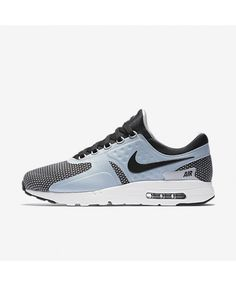 588a6e69b7 Nike Air Max Zero Essential Wolf Grey/Black Mens Shoe Blue Trainers, Mens  Trainers