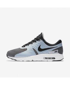 info for e2b62 980ed Nike Air Max Zero Essential Wolf Grey Black Mens Shoe Blue Trainers, Mens  Trainers