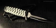Stormdrane's Blog: Pineapple knot paracord boot knife handle wrap...