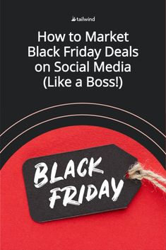 Learn how to begin building a successful social media marketing strategy for Black Friday now in this guide - tips, tricks and ideas included! Online Marketing Strategies, Marketing Plan, Content Marketing, Social Media Marketing, Social Media Trends, Social Media Images, Stencil App, Media Campaign, Social Business