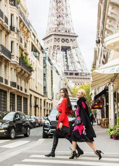 fabulous muses_milan fashion week coveteur_fashion week wardrobe_diana enciu_alina tanasa_fashion_blogger_dress