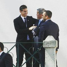 En la boda de Jorge Mendes! @jamesrodriguez10 @realmadrid #AdmiradoresJamesRodriguez #JamesRodriguez #SelecciónColombia #Colombia #ColombiaSomosTodos #RealMadrid #Madrid #HalaMadrid #HalaMadridYNadaMas #Rusia2018