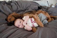 Bambini e animali, amici per la pelle/GUARDA - Teneri cuccioli