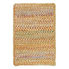 Ocracoke 0024 Cross Sewn Braided Rectangle Area Rug - Amber - 0425XS08001100725, PEL982-14