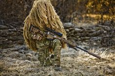 US Army Special Forces Sniper with Remington Modular Sniper Rifle