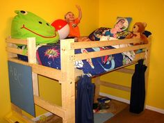 Bunk Beds For Toddler Boys | Loft Bed Photo Gallery Youth, Teen & College Student Loft Bed & Bunk ...