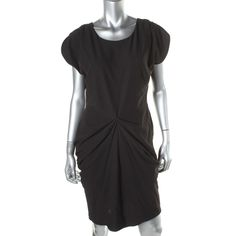 Guess Womens Textured Tulip Cocktail Dress