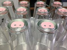 Pig nose pints. Pints, Pint Glass, Beer Glassware