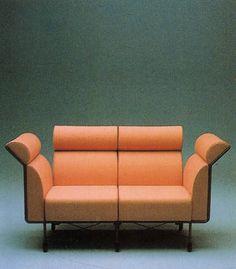 aqqindex:  #style#donnevincenti        Ugo La Pietra, PretenziosaAgevole Sofa, for Busnelli, Circa 1983