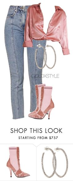 """VALENTINE."" by goldxstyle ❤ liked on Polyvore featuring Fendi"