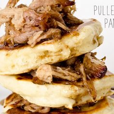 Pulled Pork Pancakes with Bourbon Syrup (iamafoodblog.com) by nevyn89