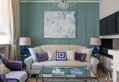 Casinha colorida: Em azul, um delicioso apartamento feminino
