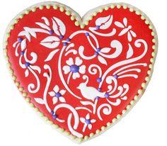 Flower Heart Cookie