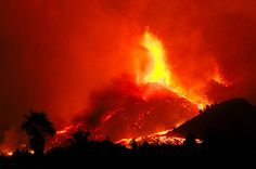 La Palma volcano causes trouble for wine producers - Decanter Spanish Islands, Wine News, Out Cold, Lava Flow, Photosynthesis, Canary Islands, Tenerife, Volcano, Sicily