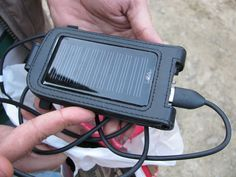 Solar Charger for an Android