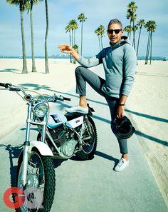 One of the coolest guys we met Mr Jeff Goldblum. Great shoot from GQ magazine September 2014. shopwittmore.com/