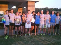 Men's cross country takes second place at the Jaguar Invitational !