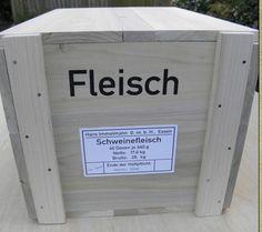 German ration crate