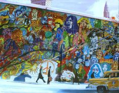 Psyche Pop Mural Art by Alain Bertrand - AllPosters.ca