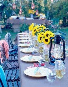 Shabby Chic Wedding Reception 5