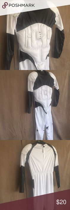 "Child's Star Wars stormtrooper costume This costume is in excellent condition, Velcro closure in back, with a 25"" inseam Star Wars Costumes Superhero"