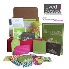 loved+blessed July 2015 box of encouragement #blessings