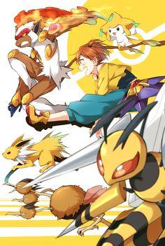 Semicha Keisuke, Love Live!, Pokémon, Jolteon, Starmie, Infernape