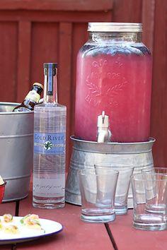 Blueberry Vodka Lemonade | Portland, Maine Cocktail Recipes
