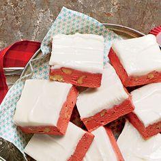 Red Velvet Fudge | If you like red velvet cake, you'll love this fudge.