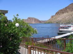 Canyon Lake on the Apache Trail outside Phoenix. Take a 90 minute narrated excursion on the steamboat Dolly.