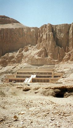 Hatshepsut's Mortuary Temple at Deir-Al-Bahari