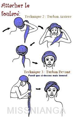 nouer un turban