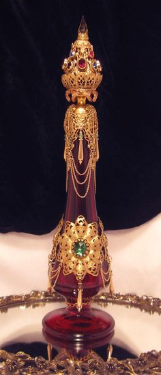 The Shahrazad Perfume Bottle. - She was quite an amazing woman.