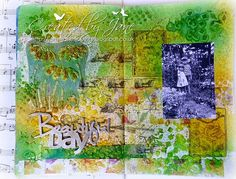 Jane's Journal: mixed media