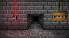 Minecraft Hidden Piston Door Tutorial (Simple, Fast and Easy)