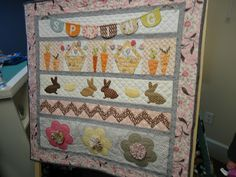 Easter quilts