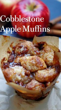 Apple Desserts, Cookie Desserts, Delicious Desserts, Yummy Food, Fruit Recipes, Apple Recipes, Fall Recipes, Muffin Recipes, Copykat Recipes