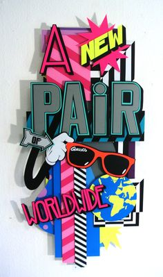 A New Pair of Glasses Original Artwork size approx. 100x50cm