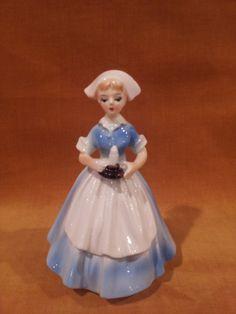 Baby Nurse Lefton Figurine Cake Topper Baby Shower Nicu