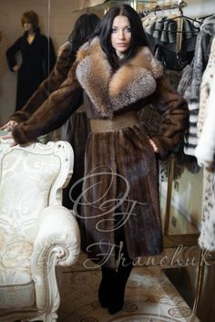 Mink & Fox Fur Coat