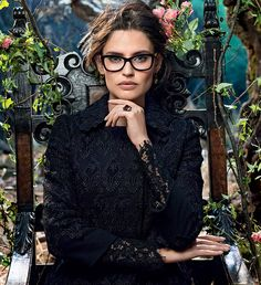 Dolce & Gabbana Eyeglasses for men and women Dolce & Gabbana / # Brillen www. Dolce And Gabbana Eyewear, Dolce & Gabbana, Nice Glasses, Girls With Glasses, Elie Saab, Bianca Balti, Fashion Eye Glasses, Wearing Glasses, Eyeglasses For Women
