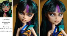Cleo de Nile repaint by Leaf Of Steel (Leaf's Dolls).