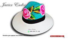 sombreros pintados a mano javier endes