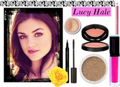 """Lucy Hale Makeup Tutorial"" by smile-because-youre-beautiful ❤ liked on Polyvore"