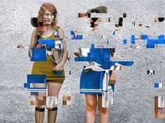 FAILED MEMORY BY DAVID SZAUDER glitch art
