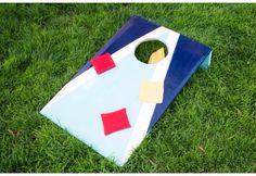 DIY Cornhole Game (perfect for backyard parties or kids activity)#Games#Trusper#Tip