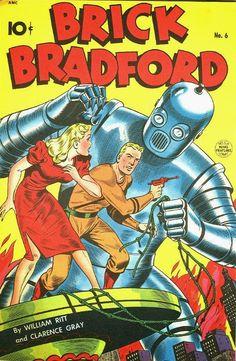 BEDETECA PORTUGAL: Brick Bradford